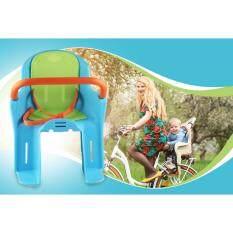 เบาะนั่งเด็กติดจักรยานด้านหลัง ที่นั่งเสริมจักรยาน ที่นั่งจักรยานเด็ก เบาะจักรยาน - สีฟ้า By Safetydoor.