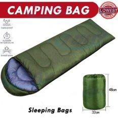 ส่วนลด สินค้า มัลติฟังก์ชั่เบาถุงนอนกลางแจ้ง สีเขียว