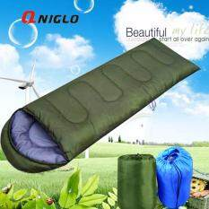 มัลติฟังก์ชั่เบาถุงนอนกลางแจ้ง สีเขียว เป็นต้นฉบับ
