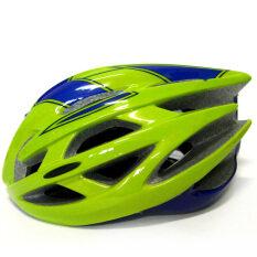 หมวกจักรยาน หมวกปั่นจักรยาน คุณภาพสูง สีเขียว น้ำเงิน Ome ถูก ใน กรุงเทพมหานคร