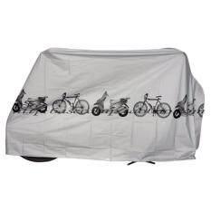 ผ้าคลุมรถจักรยาน ผ้าคลุมรถมอเตอร์ไซค์ ผ้าคลุมจักรยาน ผ้าใบคลุมจักรยาน