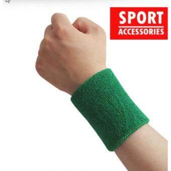 ปลอกรัดข้อมือซับเหงื่อ สำหรับออกกำลังกาย