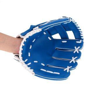 มืออาชีพถุงมือเบสบอลกีฬาเบสบอลทีมการออกกำลังกาย 10.5 \ถุงมือเบสบอลสีฟ้ามือซ้ายซอฟท์บอลถุงมือ-นานาชาติ