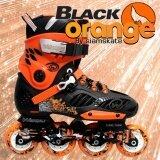 รองเท้าสเก็ต โรลเลอร์เบลด Professional Fix Boree ไซด์ 44 สีดำ ส้ม ใน กรุงเทพมหานคร