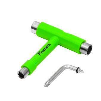 Promark อุปกรณ์ T-tool Skateboard T WrenchPhilips Screw Tool for Allen bolts Size 10-12-14mm ( 3/8\- 9/16\- 1/2\ inch)