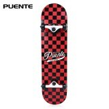 ซื้อ Puente 602 Abec 9 Four Wheel Double Snubby Maple Skateboard For Entertainment Intl Unbranded Generic