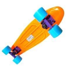 ราคา Puente Mini Skateboard สเก็ตบอร์ด Abec9 สีส้ม Unbranded Generic เป็นต้นฉบับ