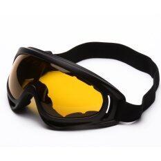 ซื้อ Pym แว่นตากันแดด กันฝุ่น สำหรับขี่มอเตอร์ไซค์ จักรยาน หรือ เล่นกีฬากลางแจ้ง กรอบดำ มีสายรัด เลนส์สีน้ำตาล จำนวน 1 ชิ้น Pym เป็นต้นฉบับ