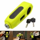 Q Shop Motorcycle Grip Lock Anti Theft Brake Lever Security Lock Throttle Grip Lock Yellow Intl จีน
