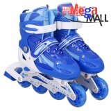 ราคา รองเท้าสเก็ต โรลเลอร์เบลด Qi Sport ไซส์ 34 37 สีน้ำเงิน ออนไลน์ Thailand