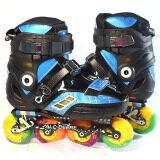 ขาย รองเท้าสเก็ต โรลเลอร์เบลด All Deere สีดำ น้ำเงิน Unbranded Generic ออนไลน์