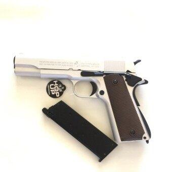 ปืนอัดแก๊ส R31 สีเงิน