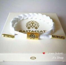 โปรโมชั่น Rastaclat Miniwhite Little Lion Bracelet สร้อยข้อมือสิงโตเล็ก Woman Man Fashion ถูก