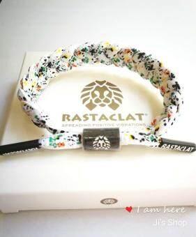Rastaclat- Spark White little lion bracelet สร้อยข้อมือสิงโตเล็ก