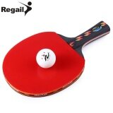 ซื้อ Regail D003 Table Tennis Ping Pong Racket One Long Handle Paddle Bat With Ball Intl