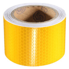 ราคา Reliable High Intensity Reflective Tape Vinyl Roll Self Adhesive Gold ใหม่ ถูก