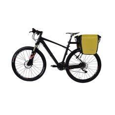ราคา Rockbros 18000Ml Back Side Roller Bike Panniers Bicycle Waterproof Rear Bag Yellow Intl จีน