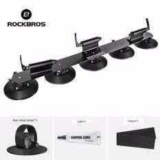 ซื้อ Rockbros 3 Bike Car Suction Roof Carrier Quick Installation Rack Bicycle Rack Black Intl ถูก