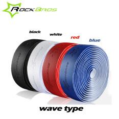 ราคา Rockbros Professional Road ขี่จักรยาน Handlebar เทปคลื่นประเภท 4 สีกันลื่น Anti Sweat S R Eva Road Bike จักรยาน Handlebar Tape Wrap Rockbros ใหม่