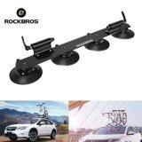 ขาย ซื้อ Rockbros Bike Car Suction Roof Carrier Quick Installation Rack Bicycle Rack For 2 Bikes Black Intl จีน
