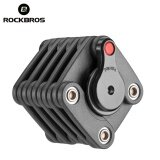 โปรโมชั่น Rockbros Bike Combination Lock 4 Digital Steel Folding Lock Cube Code Lock Intl ถูก