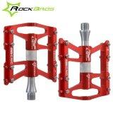 ขาย Rockbros Bike Pedals Cycling Sealed 4 Bearing Pedals Flat Platform One Pair Seven Colours Red Intl ออนไลน์ ใน จีน