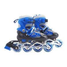 Roller Blade รองเท้าสเก็ต โรลเลอร์เบลด โรลเลอร์สเก็ต เล่น สเก็ต Size S[28-33] สีน้ำเงิน.