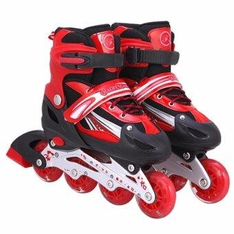 รองเท้าสเก็ต โรลเลอร์เบลด Roller Blade Skate รุ่นM= 33-37 --Red