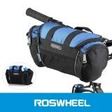 ราคา Roswheel 5ลิตรจักรยานยางหน้ากระเป๋า สีน้ำเงิน ที่สุด