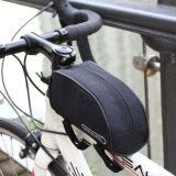 โปรโมชั่น Roswheel Bicycle Cycling Bike Frame Front Top Tube Bag Outdoor Pouch Black ใน จีน