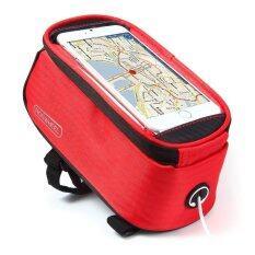 ขาย Roswheel Bike Saddle Phone Bag Touch Screen Red Intl Tc ถูก ใน จีน