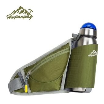 Running Bum Bag Travel Handy Hiking Sport Kettle Pack Waist Belt Zip Pouch - intl