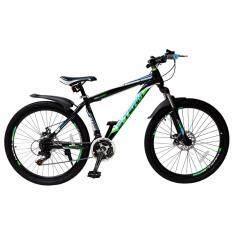 ขาย S Team Bike จักรยานเสือภูเขา 26 นิ้ว เฟรม Steel 21 Speed Shimano รุ่น Hawk Mtb 102 ดำ ขาว เขียว ฟ้า เป็นต้นฉบับ
