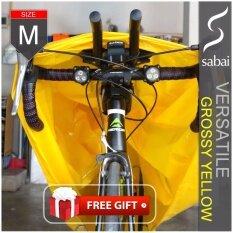 ขาย Sabai Cover ผ้าคลุมจักรยาน รุ่น Versatile Grossy Yellow Size M Free Size Standard Size ราคาถูกที่สุด