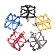 ราคา Saideng Aluminum Alloy Mountain Bike Pedals Bicycle Flat Pedals With Four Sealed Bearing Color Golden Style 4 Bearing Ultra Light Pedal Intl Unbranded Generic เป็นต้นฉบับ