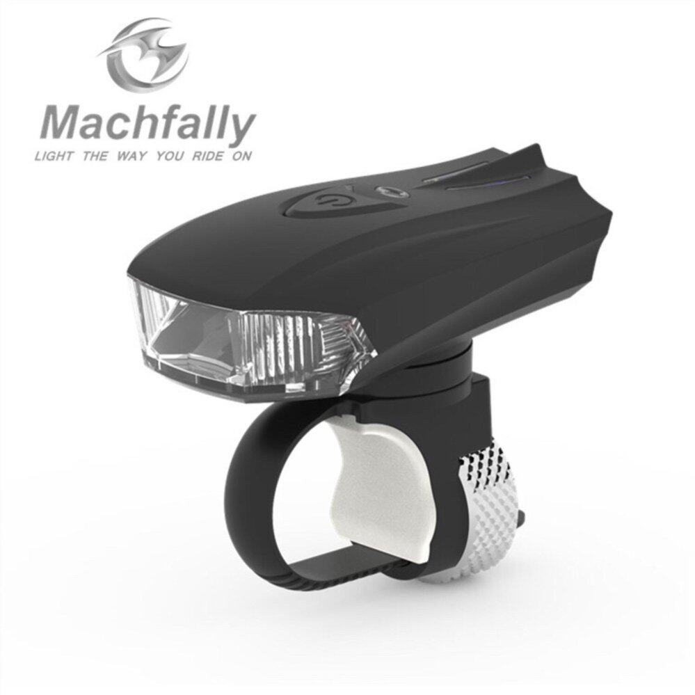 SALE LeeBicycle ไฟหน้าจักรยาน Machfally USB Aluminium Light 400 Lumens(Sensor light)
