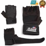 ราคา Schiek Lifting Glove ถุงมือยกน้ำหนัก ถุงมือฟิตเนส Fitness Glove Size L Black เป็นต้นฉบับ Schiek
