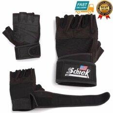 ราคา Schiek Lifting Glove ถุงมือยกน้ำหนัก ถุงมือฟิตเนส Fitness Glove Size Xl Black Schiek เป็นต้นฉบับ
