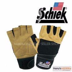 ส่วนลด สินค้า Schiek ถุงมือยกน้ำหนัก ถุงมือฟิตเนส Fitness Glove Yellow Size Xxl