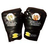 ราคา Senba นวมชกมวยเด็กการ์ตูนสีดำ นวมมวยสำหรับเด็ก นวมต่อยมวย นวมซ้อมมวยไทย นวมเด็กลายการ์ตูน Black Cartoon Pu Leather Muay Thai Kick Boxing Gloves For Kids เป็นต้นฉบับ Senba