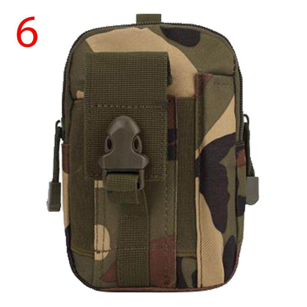 senchen Men's Outdoor Camping Bag Hiking Pouch Military Army Waist Pack with Belt Loop for Accessories Note 7 IPhone 6s Plus Galaxy S7 Edge,Camouflage