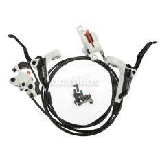 ซื้อ Shimano Br Bl M355 Hydraulic Disc Brake Set Front And Rear White Color ใหม่