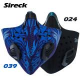 ขาย ซื้อ Sireck 2 Style Cycling Mask Activated Carbon Half Face Sportsnbicycle Bike Training Mask Dust Mask Filter Mascaras Ciclismo จีน