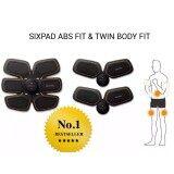 ทบทวน Sixpad Abs Fit And Twin Body Set Training Gear รุ่นที่โรนัลโด้โฆณา เครื่องกระตุ้นการสร้างกล้ามเนื้อ ซิคแพค มีคลิป