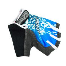 ขาย ซื้อ Size Xl New Blue Fashion Cycling Bike Bicycle Gel Shockproof Sports Half Finger Glove Blue Intl