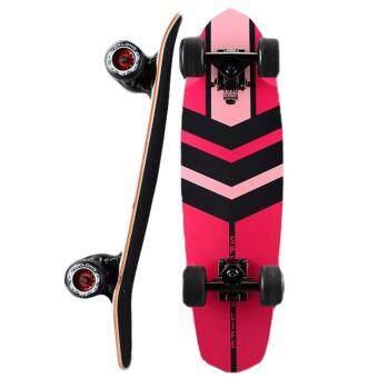 Skateboard สเก็ตบอร์ด รุ่น Mk long -Curiser board # Pinky Speed