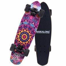 ราคา Skateboard สเก็ตบอร์ด รุ่น Mk Long คูเซอร์ บอร์ด ไม้เมเปิ้ลอย่างดี กราฟฟิก ดีไซท์ Mk Longboard เป็นต้นฉบับ