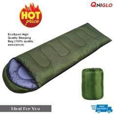 ราคา Sleeping Bags มัลติฟังก์ชั่เบาถุงนอนกลางแจ้ง สีเขียว No Brand กรุงเทพมหานคร