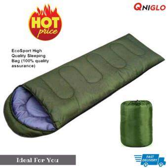 Sleeping bags มัลติฟังก์ชั่เบาถุงนอนกลางแจ้ง (สีเขียว)