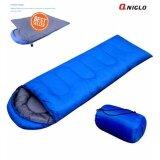 ถุงนอนสีน้ำเงิน ขนาดกระทัดรัด น้ำหนักเบา พกพาไปได้ทุกที่ Sleeping Bags For Outdoor Easy Carry Waterproof Sleeping Bag Blue ใหม่ล่าสุด